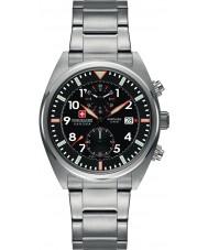 Swiss Military SM34222AEU-H01MS Relógio do esquadrão dos homens