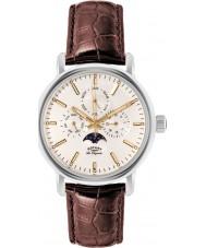 Rotary GS90135-32 Mens les originales relógio de Greenwich aço marrom