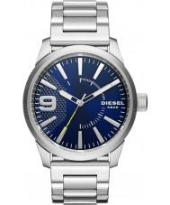 Diesel DZ1763 Mens grosa de aço de prata pulseira de relógio
