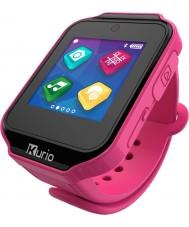 Kurio C16501 Infantil Rosa resina touch screen relógio inteligente