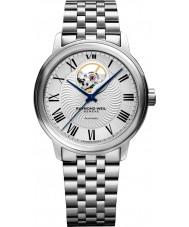 Raymond Weil 2227-ST-00659 Mens pulseira de relógio de aço de prata maestro