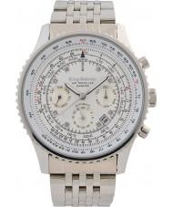 Krug-Baumen 600301DSA Mens air traveler diamante relógio automático