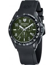 Swiss Eagle SE-9061-03 campo Mens tático relógio cronógrafo preto
