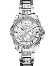 Guess W0286L1 Ladies intrépido 2 de prata pulseira de aço relógio