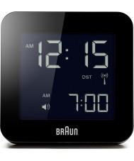 Braun BNC009BK-RC despertador rádio controlado Global - preto
