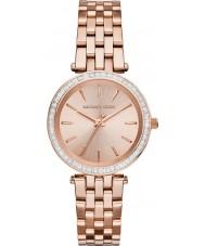 Michael Kors MK3366 Senhoras darci ouro rosa relógio banhado