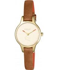 Radley RY2410 Ladies Wimbledon tan relógio com pulseira de couro