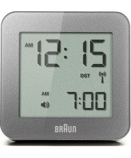 Braun BNC009GY-RC despertador digital Cinza