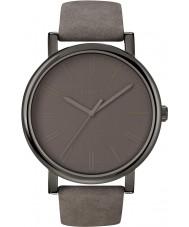 Timex T2N795 Mens tudo relógio redondo clássico cinza