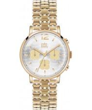 Orla Kiely OK4000 Ladies Frankie cronógrafo hamilton ouro relógio banhado