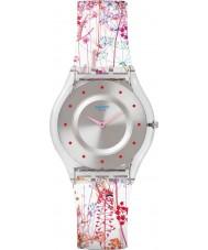 Swatch SFE102 pele das senhoras - relógio jardin fleuri