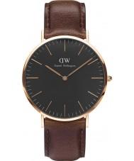 Daniel Wellington DW00100125 relógio de 40 milímetros Bristol clássico preto