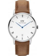 Daniel Wellington DW00100114 34 milímetros Dapper relógio Durham prata