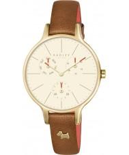 Radley RY2412 Ladies Wimbledon ruby relógio de couro cronógrafo