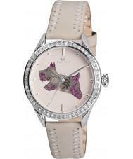 Radley RY2083 Senhoras de creme de couro genuíno relógio de pulseira com pedras