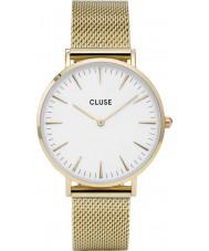 Cluse CL18109 Ladies La Boheme relógio malha