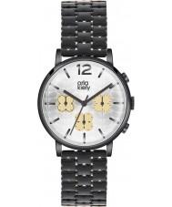 Orla Kiely OK4002 Ladies frankie relógio ip preto cronógrafo