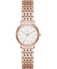 DKNY NY2511 Senhoras Minetta pulseira rosa relógio do aço ouro