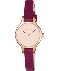 Radley RY2414 Ladies Wimbledon ruby relógio com pulseira de couro