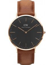 Daniel Wellington DW00100126 relógio clássico 40 milímetros Durham preto