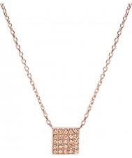 Fossil JF02261791 Ladies Glitz do vintage aumentou colar banhado a ouro