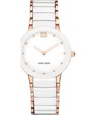 Danish Design V67Q1065 pulseira pulseira de cerâmica branca das senhoras