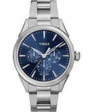 Timex TW2P96900 Homens Chesapeake prata relógio pulseira de aço