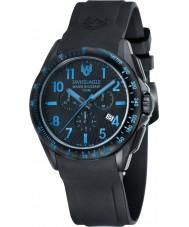 Swiss Eagle SE-9061-06 campo Mens tático relógio cronógrafo preto