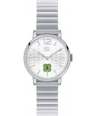 Orla Kiely OK4003 Ladies frankie relógio pulseira de aço de prata