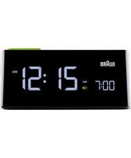 Braun BNC016BK LCD relógio preto