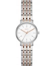 DKNY NY2512 Ladies Minetta dois tons pulseira de aço relógio