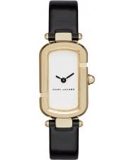 Marc Jacobs MJ1487 Ladies Jacobs couro preto relógio pulseira