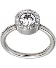 Edblad 83279 Senhoras anel de aço thassos - tamanho P (m)