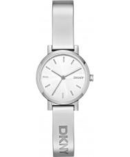 DKNY NY2306 relógio de prata das senhoras soho