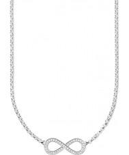 Thomas Sabo KE1312-051-14 Ladies eternidade de amor colar de prata com borda infinita