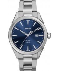 Timex TW2P96800 Homens Chesapeake prata relógio pulseira de aço