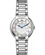 Dreyfuss and Co DLB00060-D-01 As senhoras 1974 de diamantes conjunto de relógio de prata