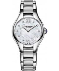 Raymond Weil 5124-ST-00985 Senhoras prata Noêmia relógio de aço do diamante