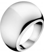 Calvin Klein KJ3QMR000107 Ladies elipse anel de prata - tamanho n.5