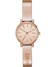 DKNY NY2308 Ladies soho subiu relógio de ouro