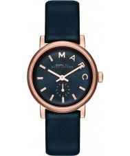 Marc Jacobs MBM1331 Ladies padeiro subiu relógio marinha ouro