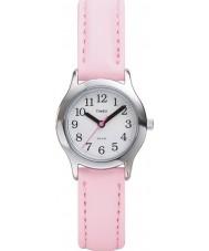 Timex T79081 Crianças rosa branca meu primeiro relógio