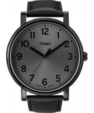 Timex T2N346 Tudo relógio redondo preto clássico