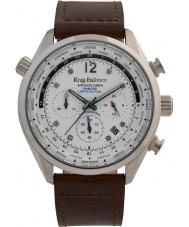 Krug-Baumen 100200DM Mens ar explorador diamante relógio de edição limitada