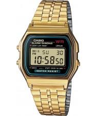 Casio A159WGEA-1EF Colecção de ouro clássico relógio banhado