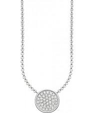 Thomas Sabo KE1491-051-14-L45v Senhoras prata círculos espumantes colar