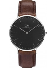 Daniel Wellington DW00100131 relógio de 40 milímetros Bristol clássico preto