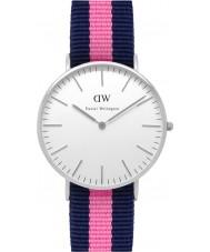Daniel Wellington DW00100049 Ladies winchester relógio clássico 36 milímetros de prata