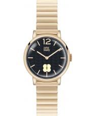 Orla Kiely OK4008 Ladies frankie marinha hamilton ouro relógio banhado