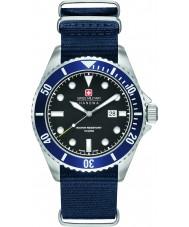 Swiss Military 6-4279-04-007-03 Mens leão-marinho de nylon azul relógio de pulseira